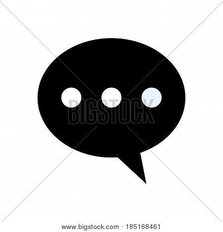 bubble speech dialog communication image vector illsutration