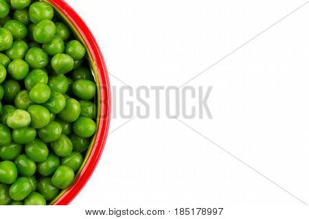 Bowl Of Green Wet Pea
