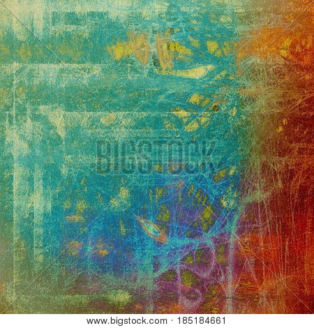 Abstract vintage colored background. With different color patterns: yellow (beige); green; blue; red (orange); purple (violet); cyan
