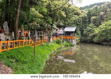 Fushimi Inari Shin Ike Pond
