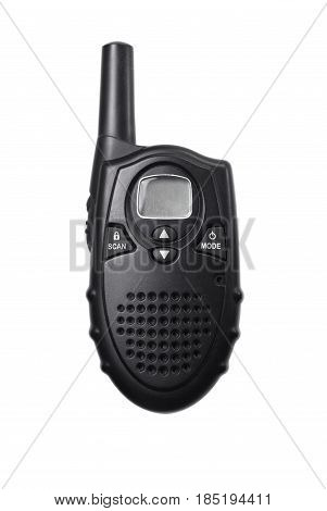 Walkie Talkie Isolated On White Background,