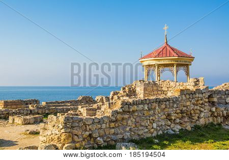 Chapel on the site of the baptism of St. Prince Vladimir in Tauric Chersonesos in Sevastopol