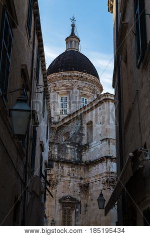 Dome Of Dubrovnik Cathedral