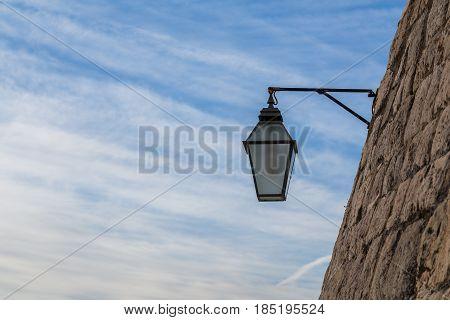 Lantern On The City Walls