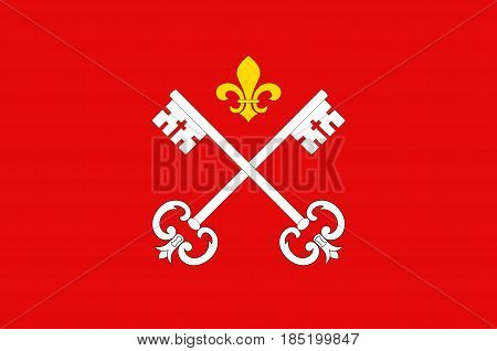 Flag of Louhans is a commune in the Saone-et-Loire department in the region of Bourgogne in eastern France.