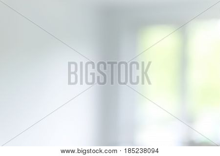 Blured office or medical background. Bright and clean