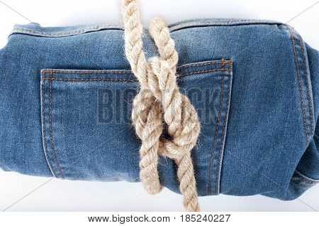 Blue jean background .Blue denim jeans texture. Jeans background