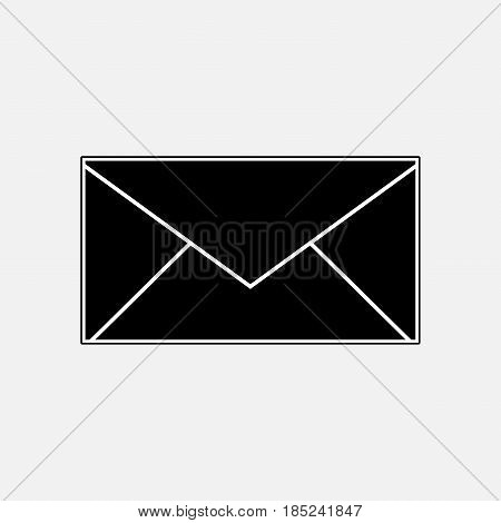 post icon envelope mail messaging fully editable vector image