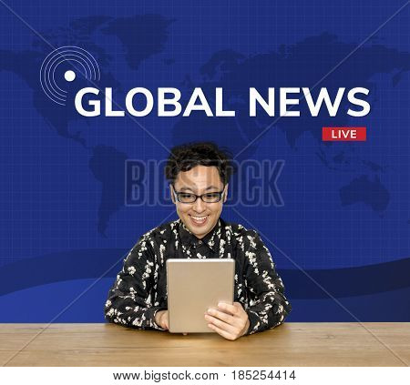 Global news for update information announcement