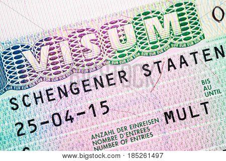 schengen visa for multiple crossing the border