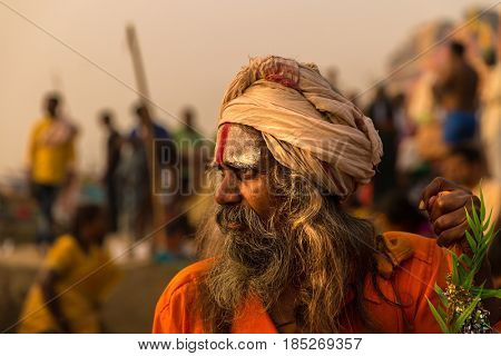 Sadhu in Varanasi, India