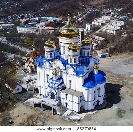 Cathedral Church of the Kazan Icon of the Mother of God the city of Nakhodka