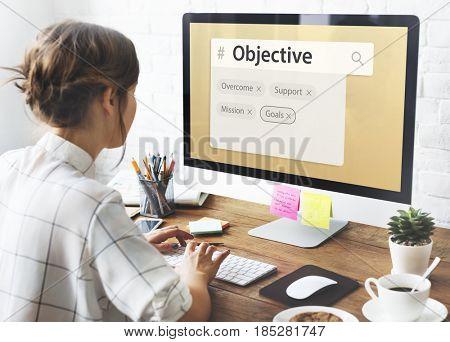 Marketing plan target strategy scheme objective proposal