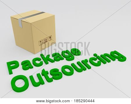 Package Outsourcing Concept