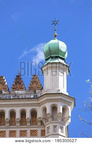 Spanish Synagogue moorish style Prague Czech Republic Europe