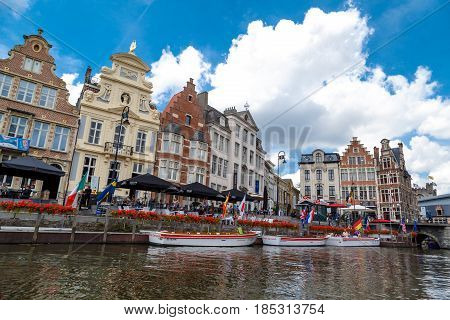 Sightseeing In Ghent With Boat Tours