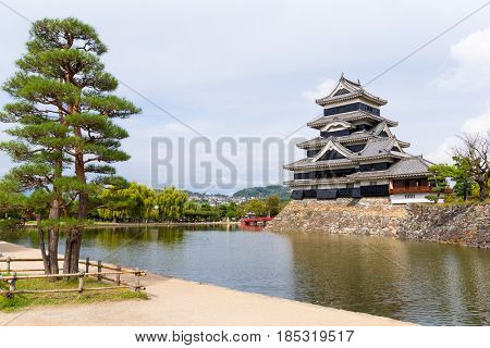 Traditional Japanese Matsumoto Castle