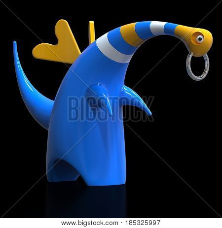 fantasy animal, 3d render
