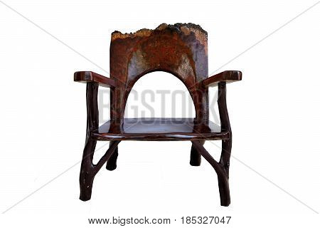 Chinese antique ming furniture chair made from elm wood.