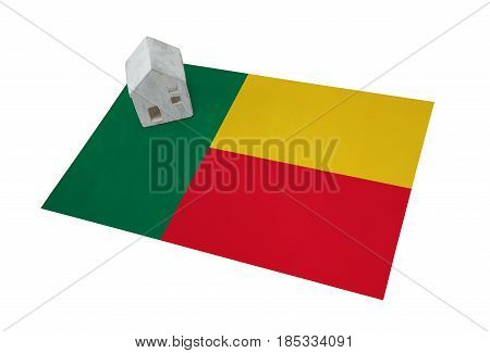 Small House On A Flag - Benin