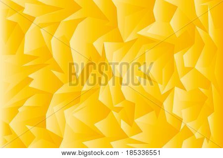 Golden abstract background. Abstract vector illustration for your design.