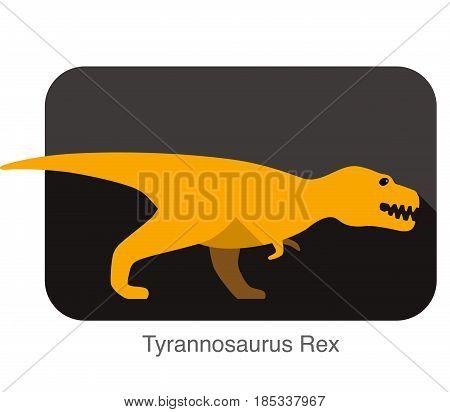 Tyrannosaurus Rex Dinosaur Open Its Mouth, Roaring