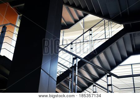 Business Start up Office Building Stairways