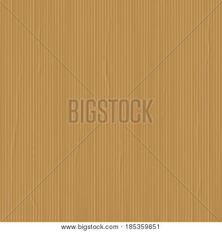 Vector illustration of brown realistic cardboard texture