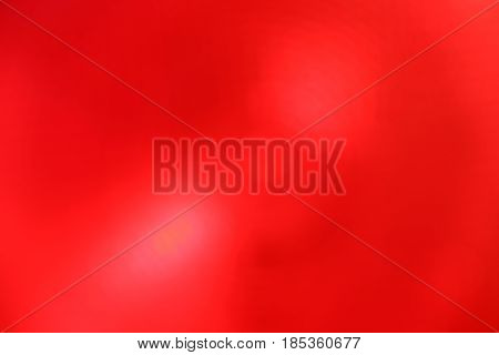 Red Abstract Blur Background With Lens Flare