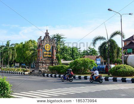 Street In Bali, Indonesia