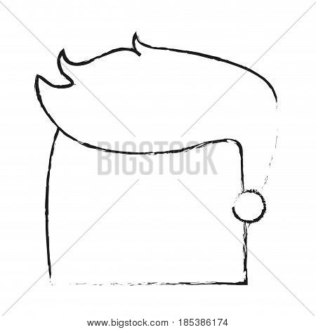 blurred silhouette image faceless side profile man with hairstyle vector illustration