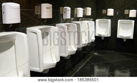 Photos inside the hotel is men's bathroom.