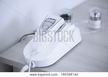 Optical diagnostic equipment in dermatology clinic