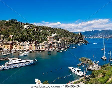 Town Portofino In Italy