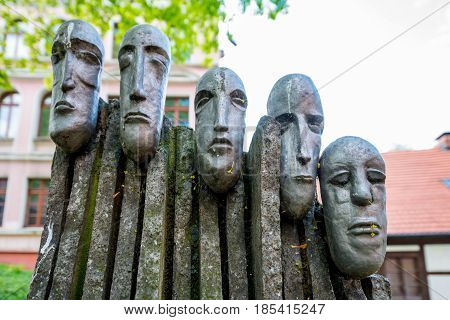 Bydgoszcz POLAND - May 8 2016: Sculpture called