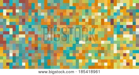 Seamless Block Abstract Background with Dynamic Digital Theme Art
