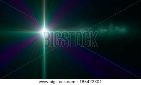 Star Cross Lens Flare