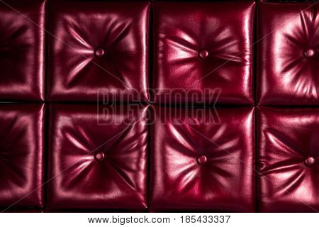 dark leather texture background of sofa
