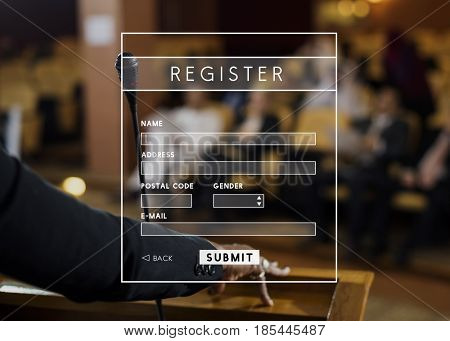 Register Username Account Summit Banner
