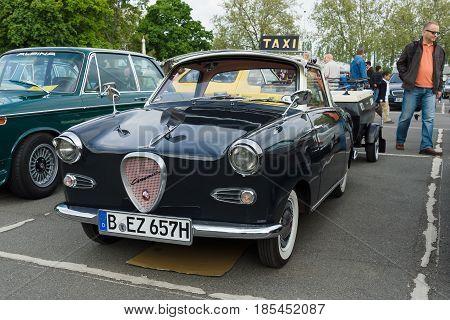 Berlin - May 11: Micro Car Goggomobil Ts 250 Coupe, 26Th Oldtimer-tage Berlin-brandenburg, May 11, 2