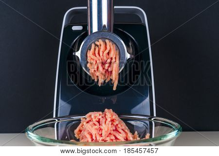 Mincing Machine And Meat