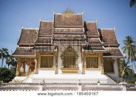 Laos Luang Prabang Wat Ho Pha Bang Royal Palace