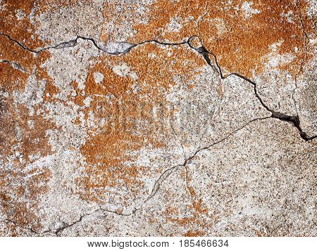 Orange Wall Texture, Background To Design Solutions