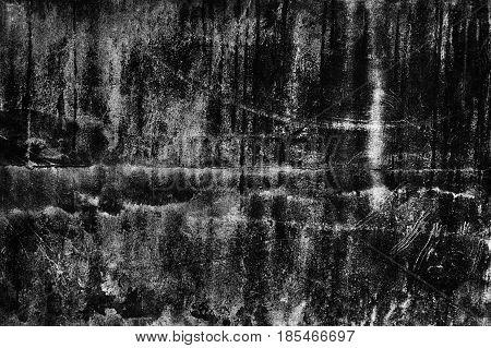 Black Background Texture Walls, Dark Cement For Design