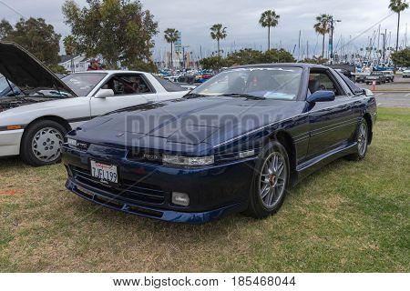 Toyota Supra 1990 Emblem On Display