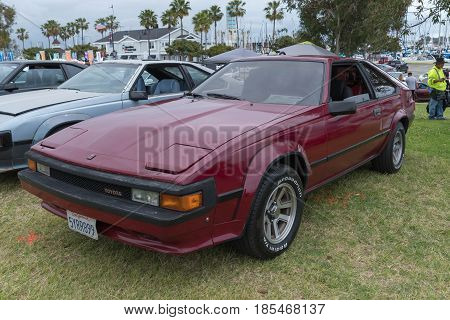 Toyota Celica Supra 1985 On Display