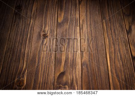 Ancient And Old Wooden Background. Empty Surface Of An Nostalgic Board.