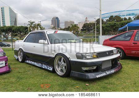 Toyota Cressida 1991 On Display
