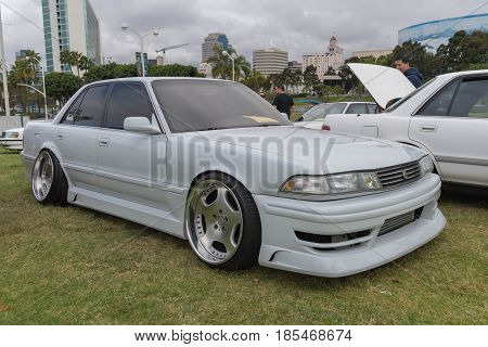 Toyota Cressida 1989 On Display