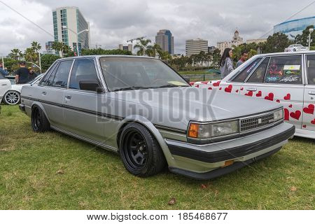 Toyota Cressida 1988 On Display